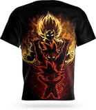 T-shirt Dragon Ball Son Goku Evolution