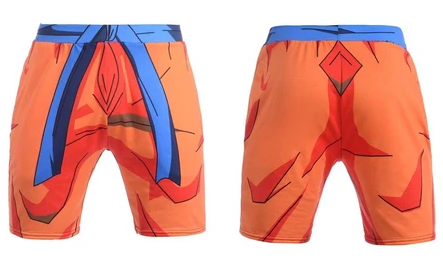 Short Muscu Dragon Ball Z Tenue Goku