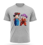 T-shirt Dragon Ball Goku et Arale