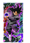 Serviette Dragon Ball Black Goku Kamehameha