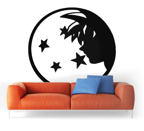 Sticker Mural dragon Ball Epopee Saiyan