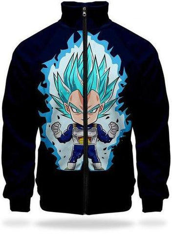 Veste Survetement DBS Vegeta SSJ Blue