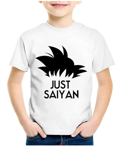 T-shirt DBZ Enfant Just Saiyan