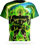 T-shirt Dragon Ball Z Broly Potentiel Revel