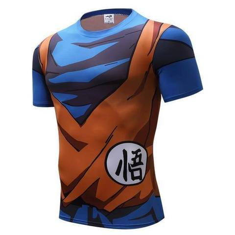 T-shirt Compression Son Goku