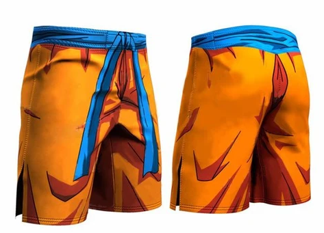 Short Dragon Ball Z Goku Boxe