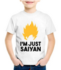 T-shirt DBZ Enfant I'm Just Saiyan