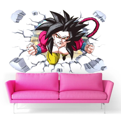 Sticker Mural Dragon Ball Goku