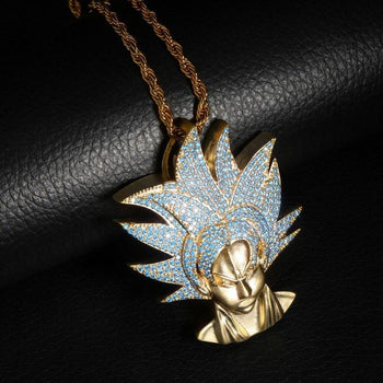 Collier Dragon Ball Z Goku Super Saiyan