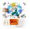 Sticker Mural Dragon Ball Trunks Petit Super Saiyan