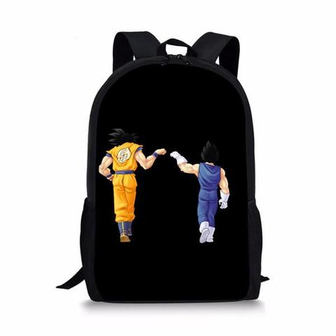 Sac a Dos Dragon Ball Z Vegeta et Son Goku