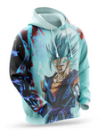 sweat Dragon Ball Vegeto Super Saiyan Blue