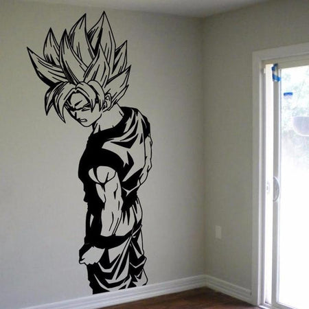Sticker Mural Dragon Ball Son Goku Super Saiyan