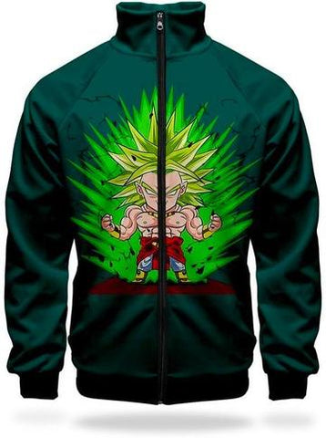 Veste Survetement DBZ Broly