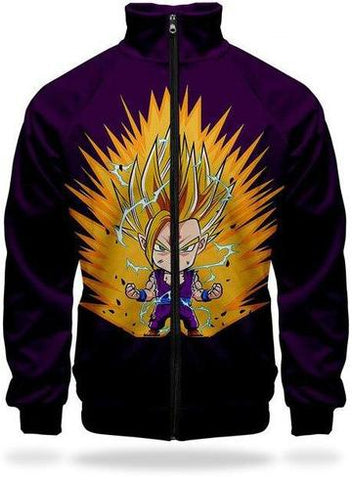 Veste Survetement DBZ Gohan Super Saiyan