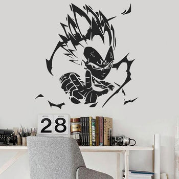 Sticker Mural Dragon Ball Majin Vegeta