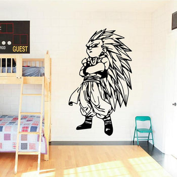 Sticker Mural Dragon Ball Goten ks SSJ
