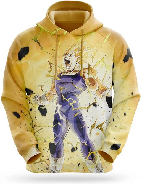 Sweat Capuche Vegeta