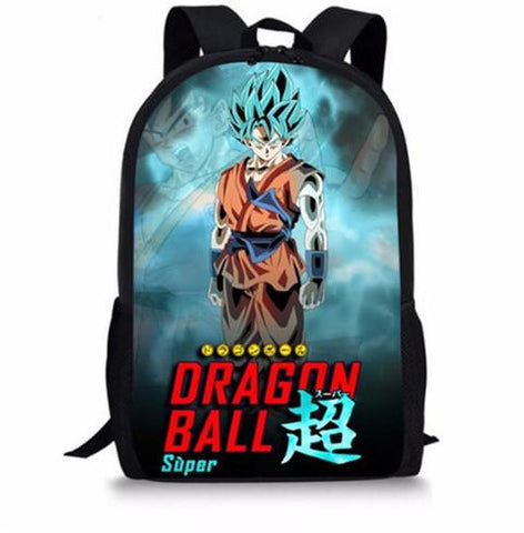 Sac a Dos Dragon Ball S Goku SSJ Blue