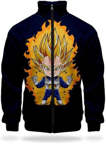 Veste Survetement DBZ Vegeta Super Saiyan