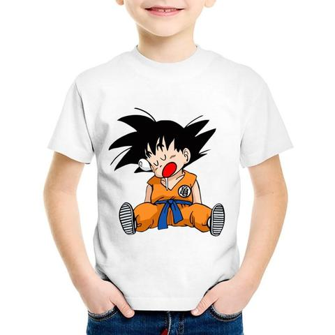 T-shirt Enfant Dragon Ball Z Super Sieste