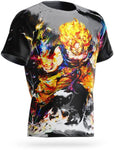 T-shirt Dragon Ball Z Goku Rage Saiyan