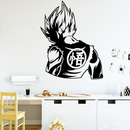 Sticker Mural Dragon Ball Super Saiyan