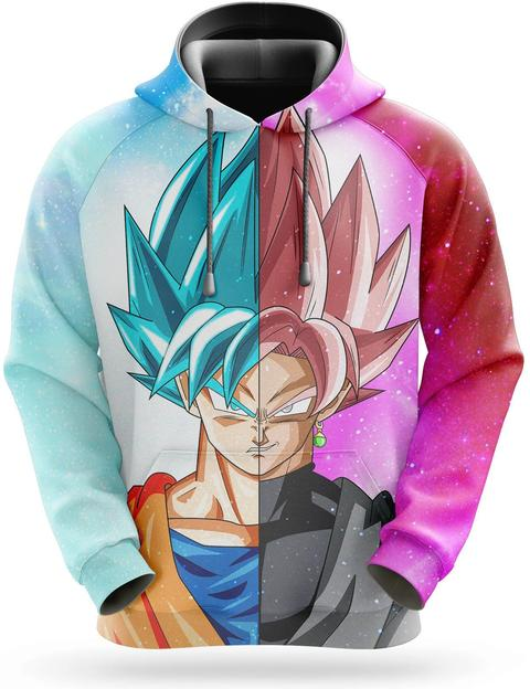 Sweat Dragon Ball Super Goku Black