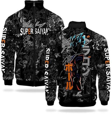 Veste Survetement DBZ Super Saiyan