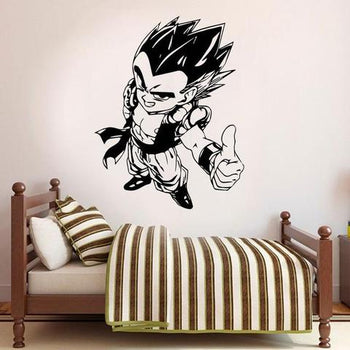 Sticker Mural Dragons Ball Gotenks
