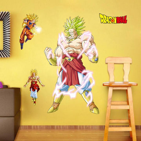 Stickers Mural Dragon Ball Broly - Le Film
