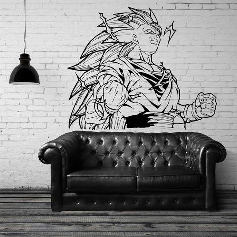 Sticker Mural Dragon Ball Goku Super Saiyan 3