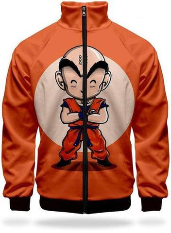 Veste Survetement DBZ Krilin