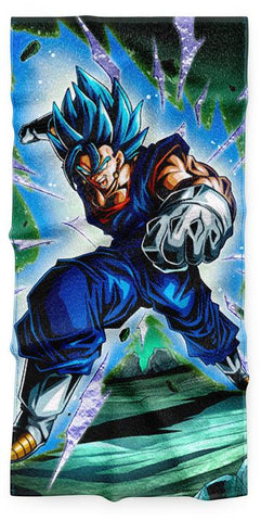 Serviette Dragon Ball Vegeto SSj Blue