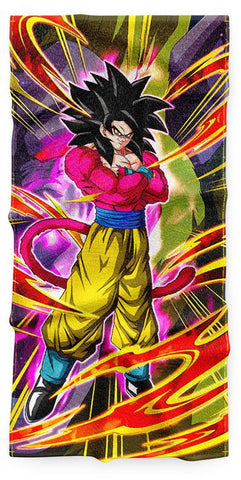 Serviette Dragon Ball GT Goku SSJ4
