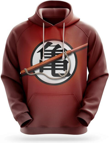 Sweat Capuche Goku Logo