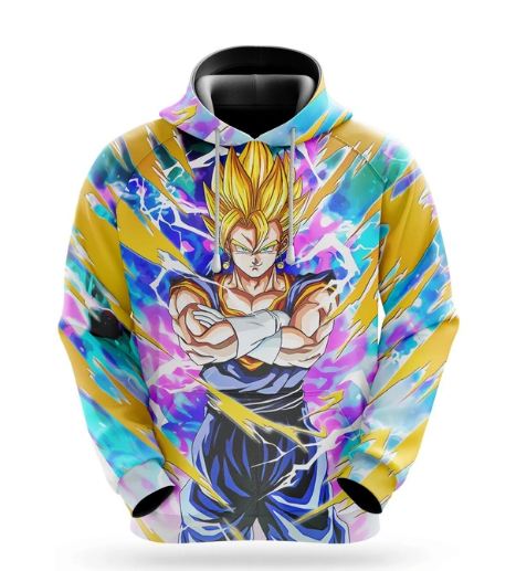 Sweat Dragon Ball Z Super Vegeto