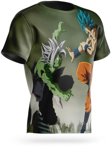 T-shirt Dragon Ball Super Goku Vs Zamasu Fusion