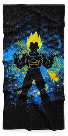Serviette Dragon Ball Vegeta Super Saiyan