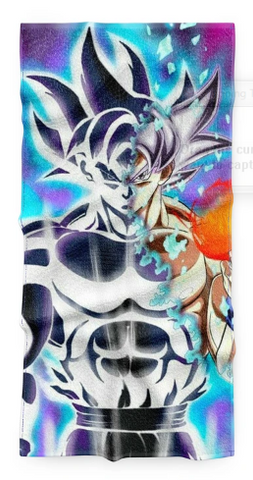 Serviette Dragon Ball Sangoku Ultra Instinct