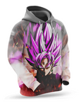 Sweat Dragon Ball Super Black Goku Rose