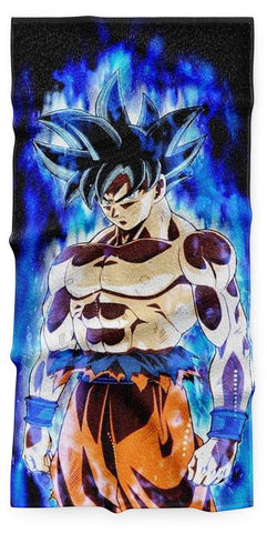 Serviette Dragon Ball Puissance Ultra Instinct