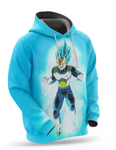 Sweat Dragon Ball Super Vegeta Blue