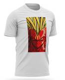 T-shirt Dragon Mcdonald's Vegeta