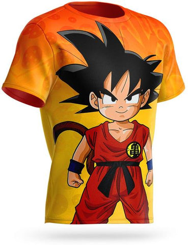 T-shirt Dragon Ball Goku Petit Kame