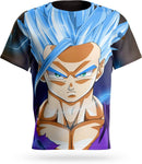 T-shirt Dragon Ball Gohan SSJ Blue