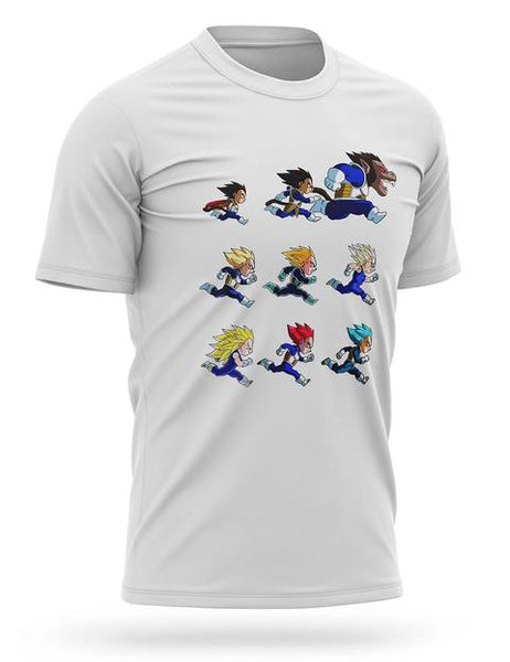 T-shirt Dragon Ball Transformations Vegeta