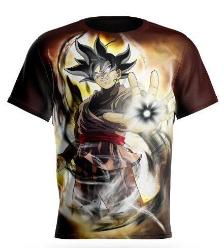 T-shirt Dragon Ball Super Goku Black Destruction