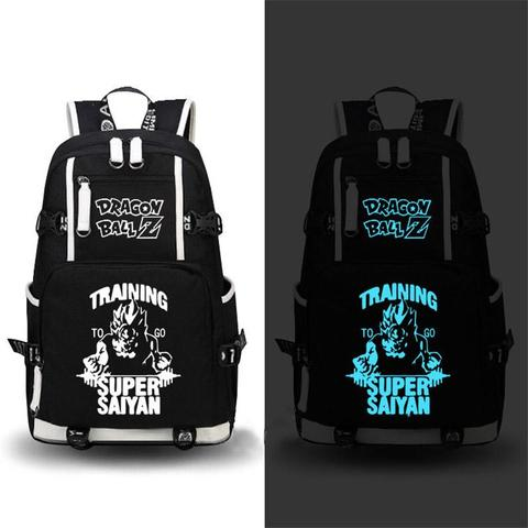 Sac a Dos Dragon Ball Z Training SSJ Fluorescent