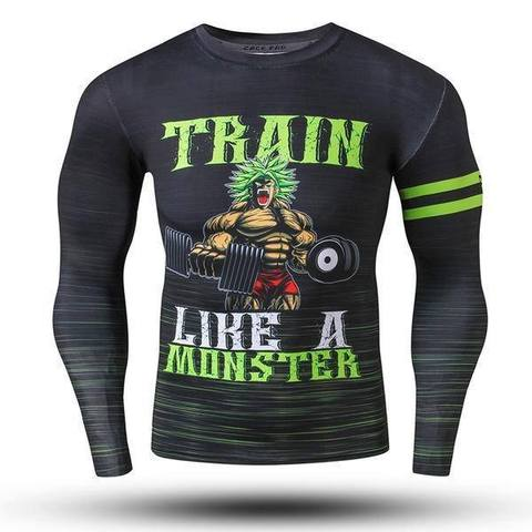 T-shirt Compression Long Broly
